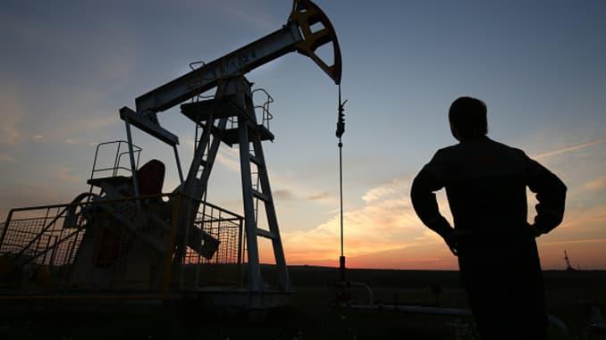 Premium: Russian oil derrick